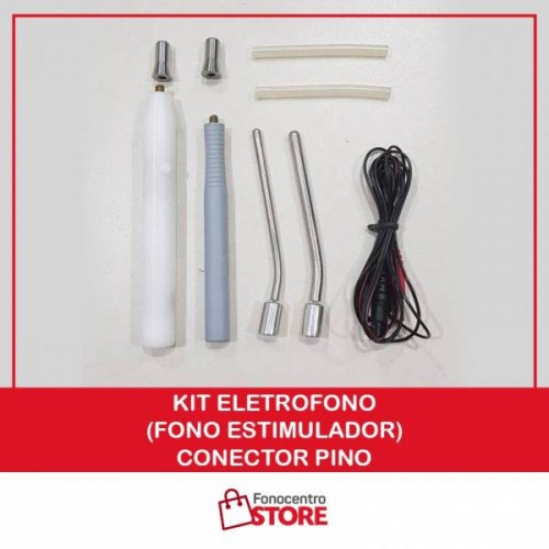 Kit EletroFono (Fono Estimulador) - Conector Pino
